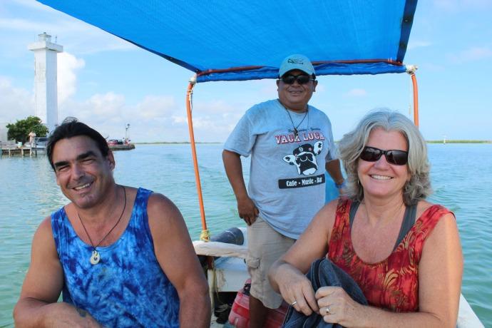 Rio Lagartos Skip, Net, captain