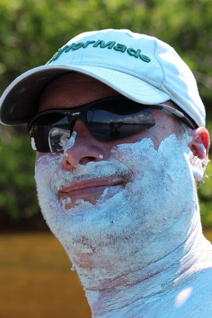 Rio Lagartos Wally mud face