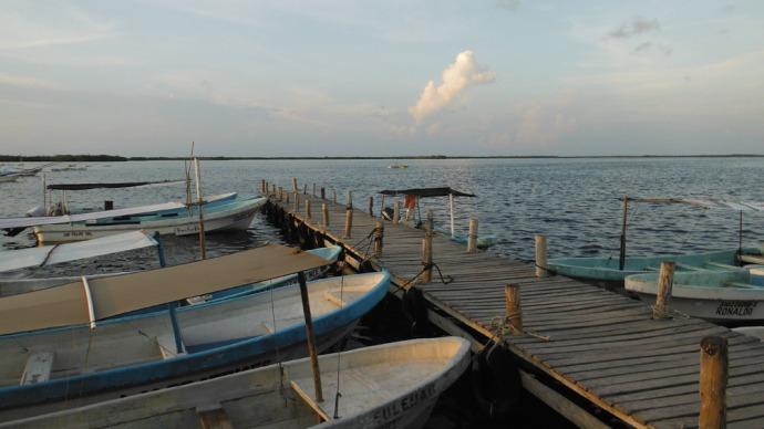 San Felipe boats tied