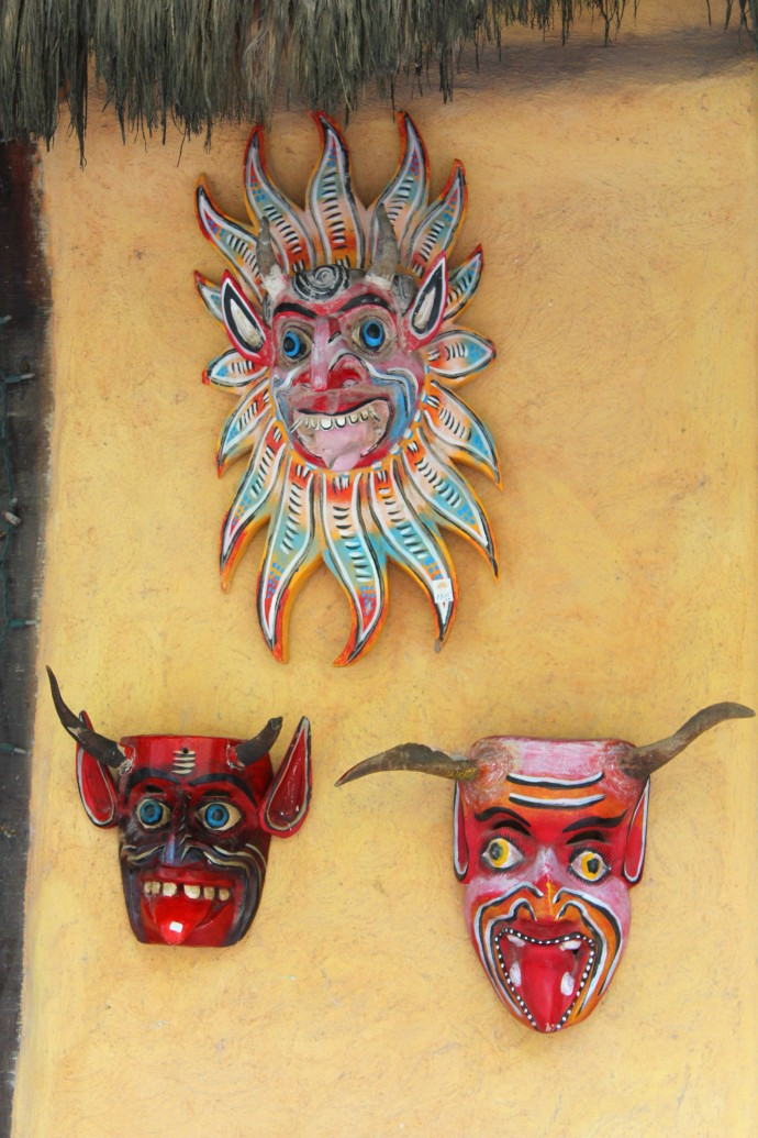 Tulum Beach Mixik grotesque masks
