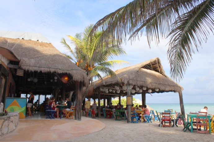 Tulum Beach Zamas Restaurant
