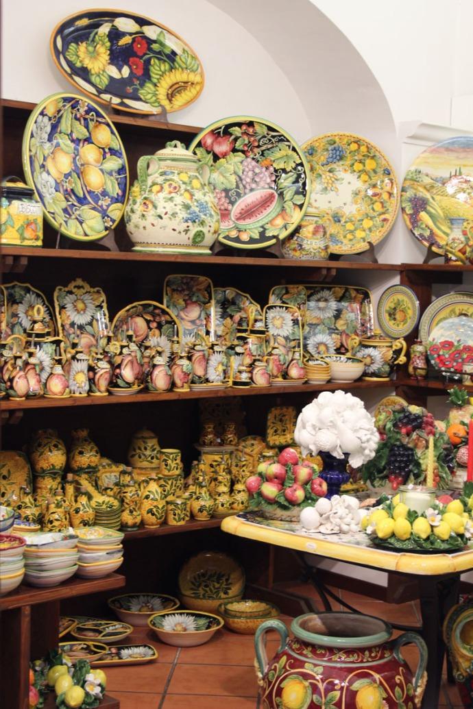 Orvieto ceramic shop