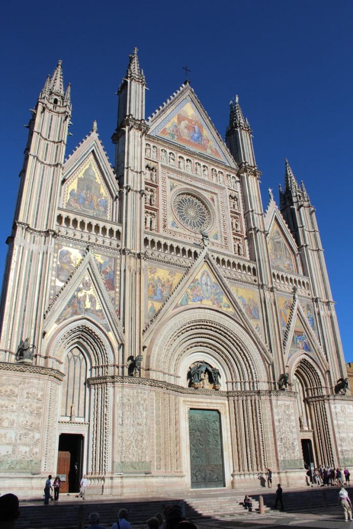 Orvieto Duomo di Orvieto 3:4 view