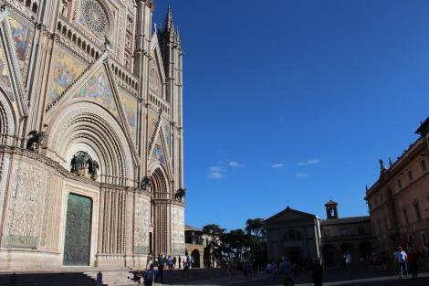 Orvieto Duomo di Orvieto and piazza