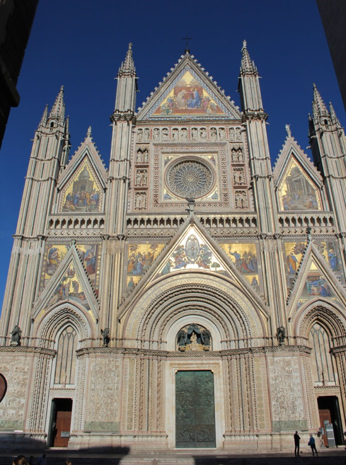 Orvieto Duomo di Orvieto front view