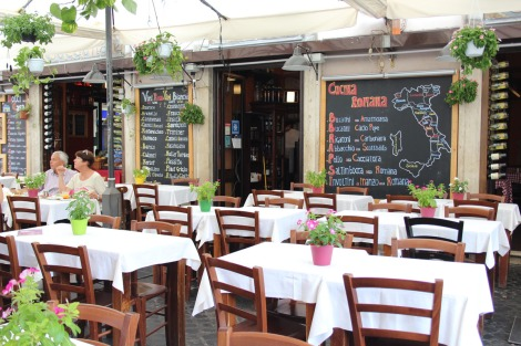 Rome Camp dei Fiori Cucina