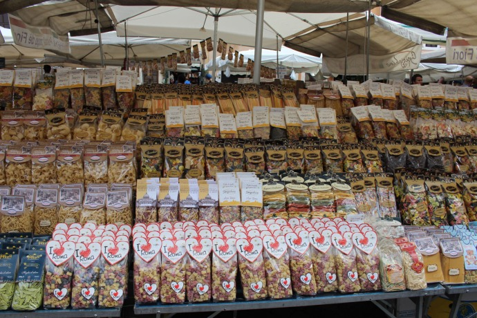 Rome Camp dei Fiori pasta bags