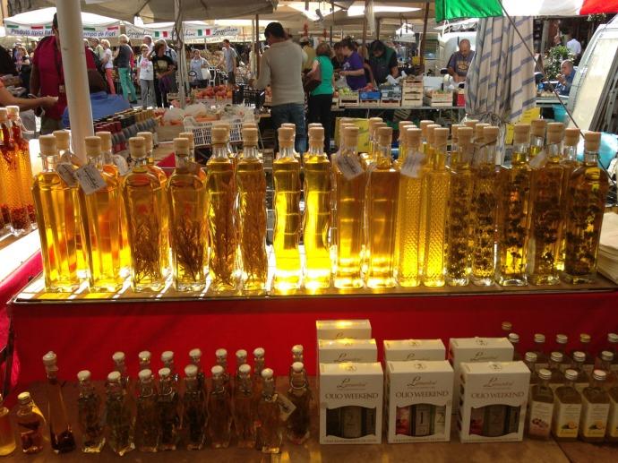 Rome Campo dei Fiori olive oils