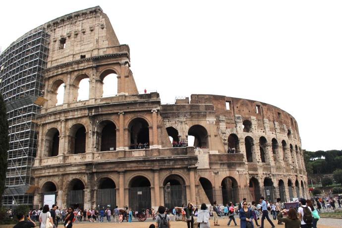 Rome Colosseum 3:4 view