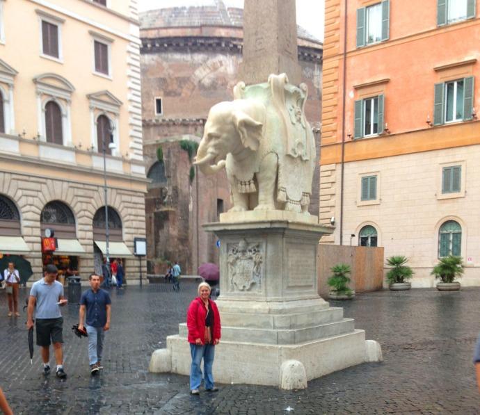 Rome Jamie and Elephant