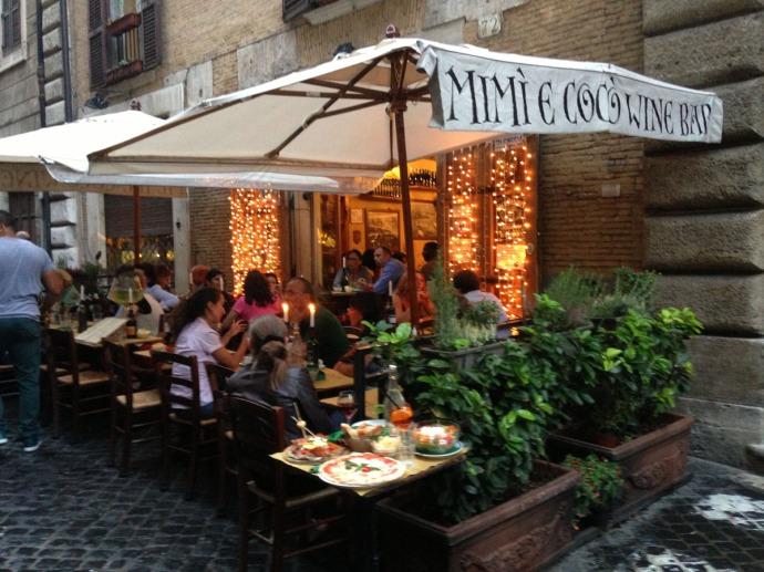 Rome Mimi & Coco cafe