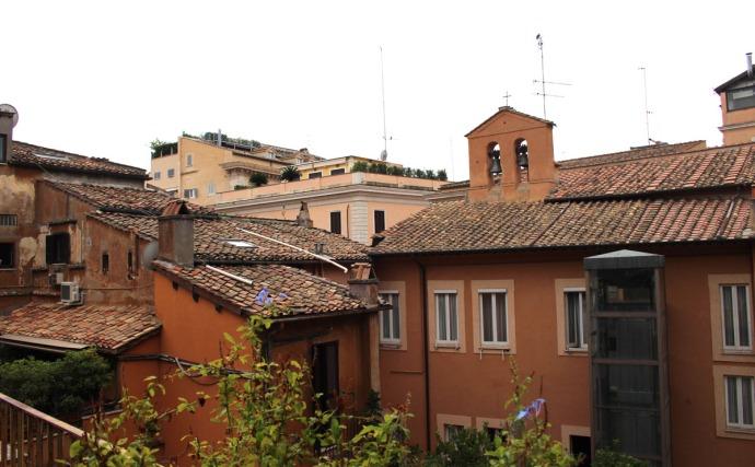 Rome Pantheon Inn balcony rooftop