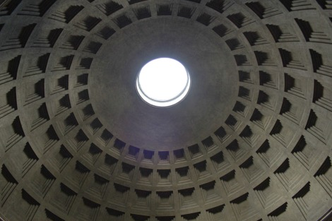 Rome Pantheon occulus roof