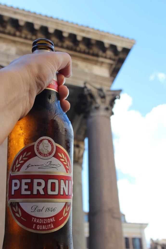 Rome Pantheon & Peroni