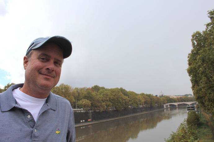 Rome, Ponte Sisto Bridge, Wally
