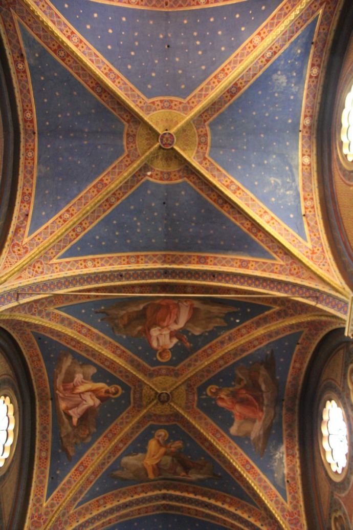 Rome Santa Maria ceiling