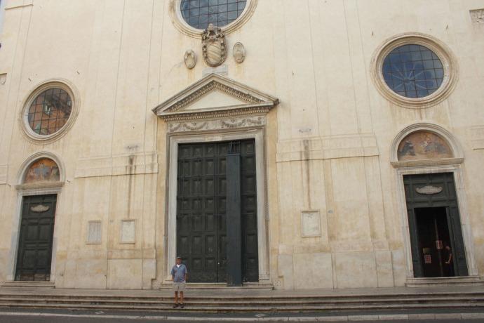 Rome Santa Maria exter, Wally