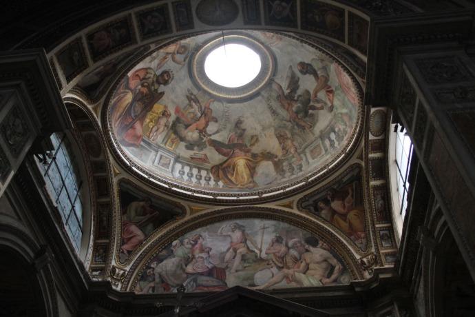 Rome Santa Maria occulus chapel clsup