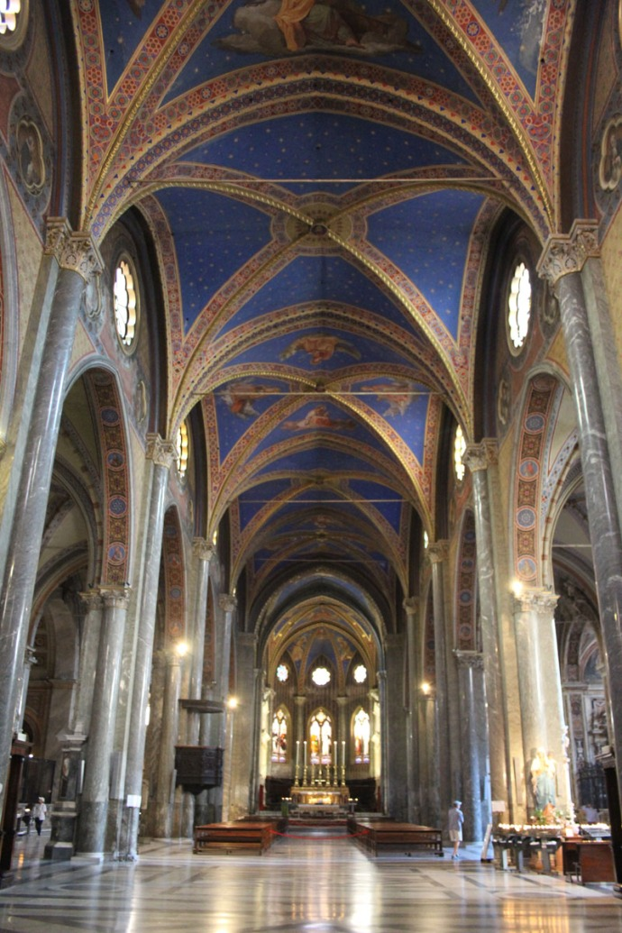 Rome Santa Maria vert main section