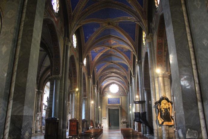 Rome Santa Maria view to front doors