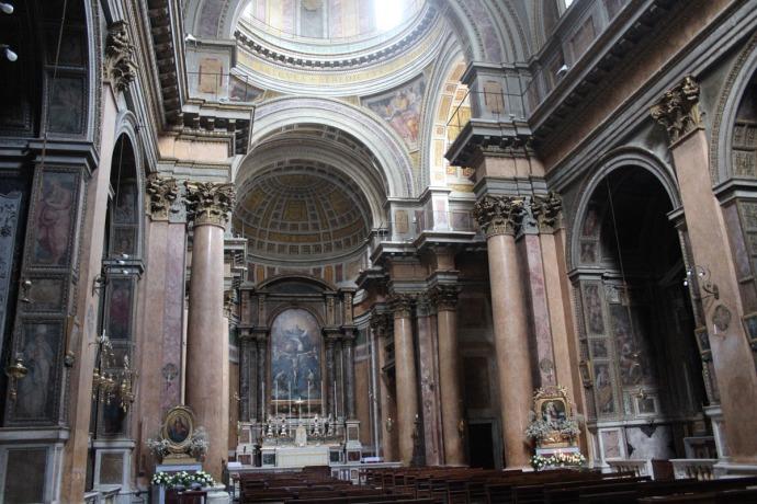 Rome Santissima Trinità dei Pellegrini big view