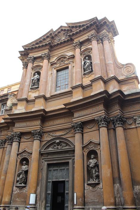 Rome Santissima Trinità dei Pellegrini, exterior