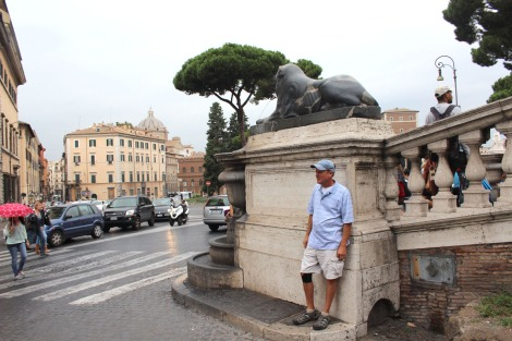 Rome Wally leaning