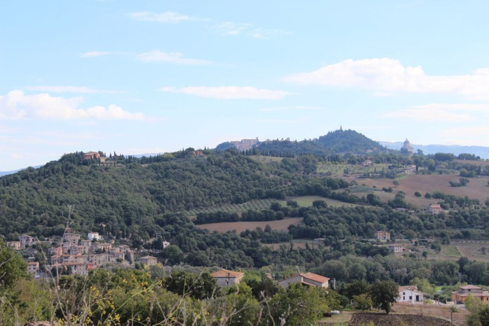 Todi hill country view