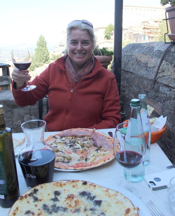 Todi Pizzeria le Scaletta, Jamie