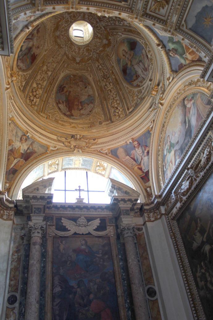 Todi Tempio di San Fortunato domed chapel