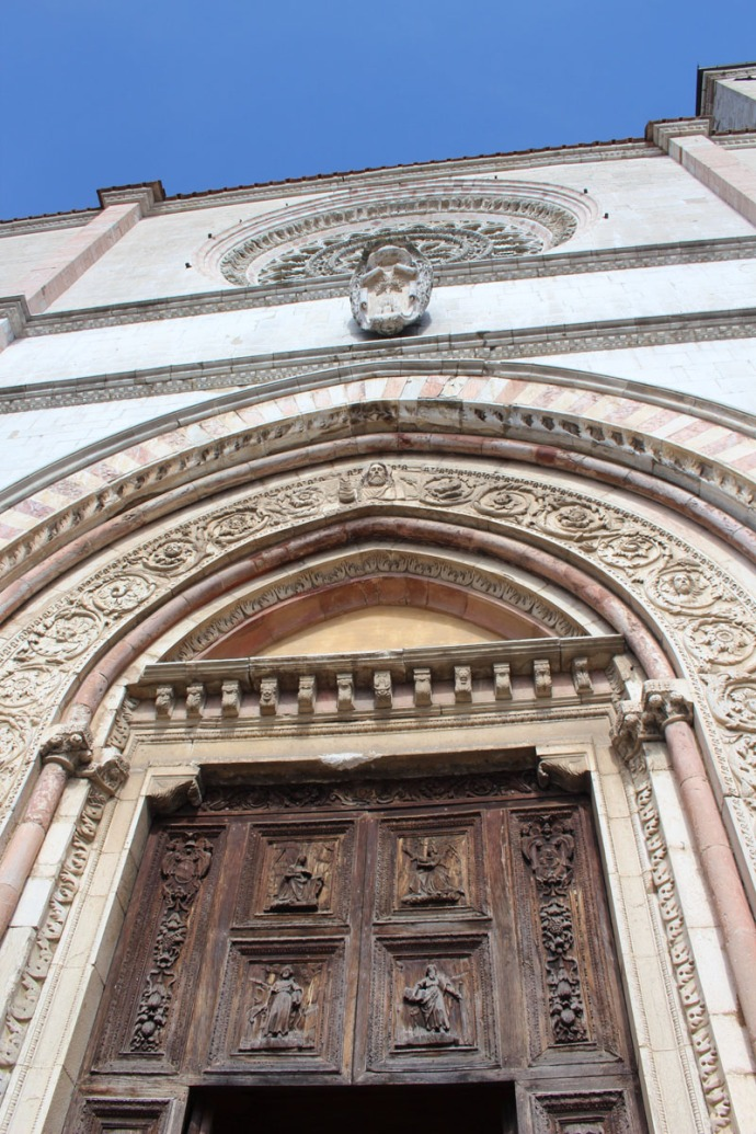 Todi The Cathedral front vert view