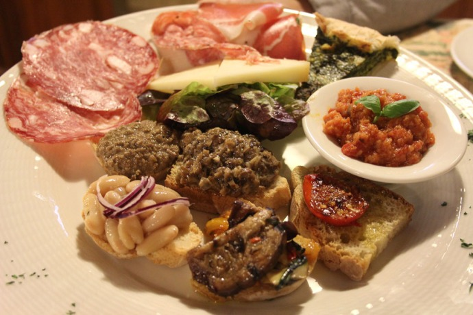 Arezzo Anticafonte starter plate