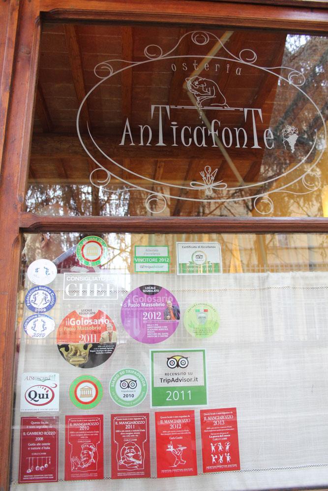 Arezzo AnTicaFonte window, awards