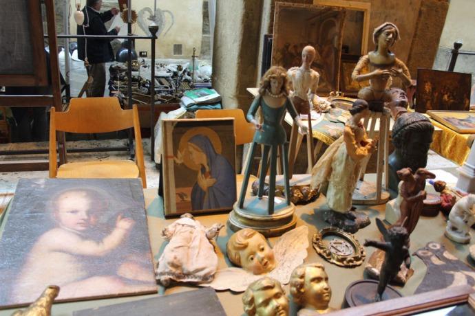 Arezzo cherubs & doll figures