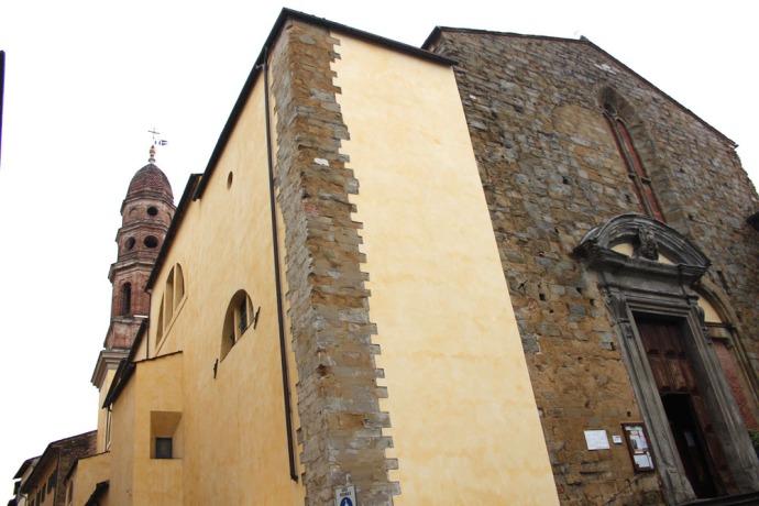 Arezzo church 3:4 view