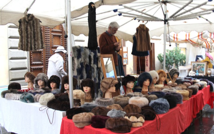 Arezzo fur hats & vests