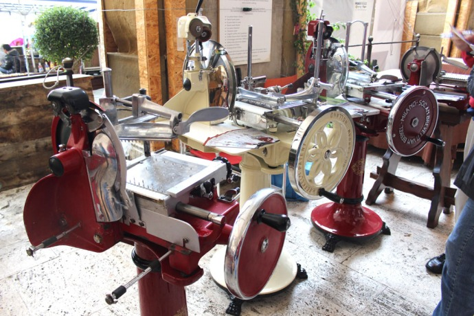 Arezzo meat machines