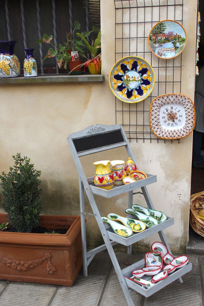 Castiglione del Lago ceramics spoon rests