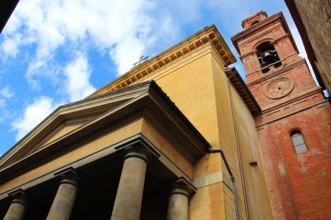 Castiglione del Lago church & sky