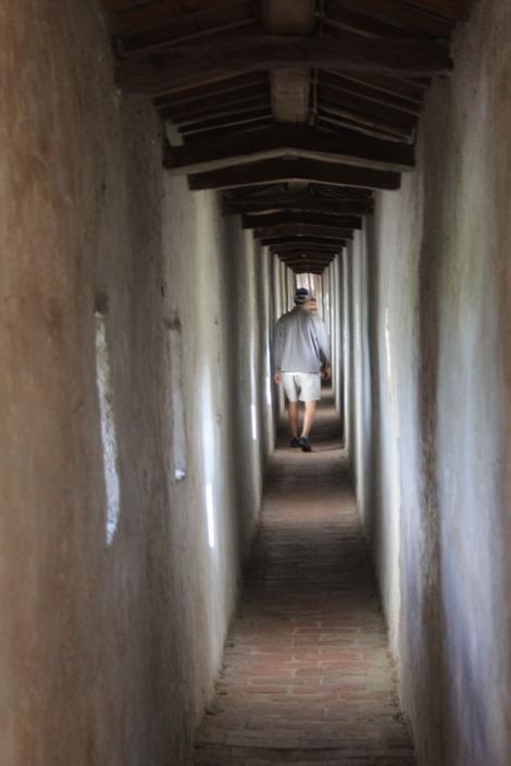 Castiglione del Lago fortress walk, wally