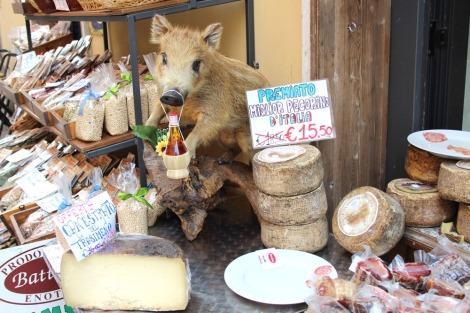 Castiglione del Lago javelina & cheese