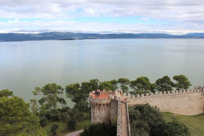 Castiglione del Lago Lake Trasimeno, fortress