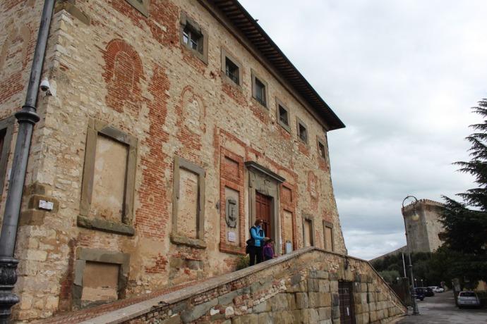Castiglione del Lago Palazzo della Corgna exterior