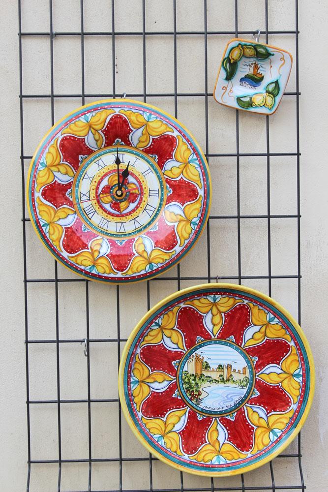 Castiglione del Lago red & yellow ceramics