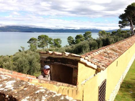 Castiglione del Lago Wally fortress walk entrance