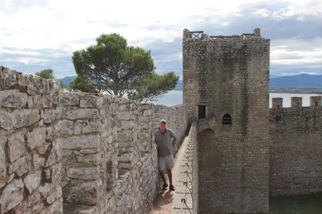 Castiglione del Lago Wally on walk