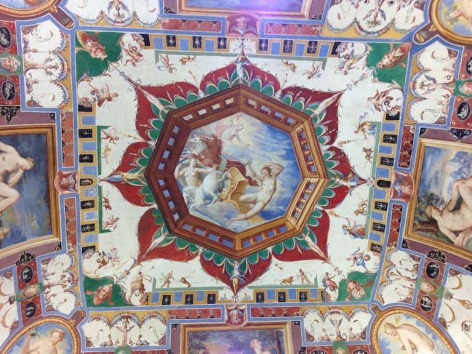 Castiglione Palazzo della Corgna ceiling hori