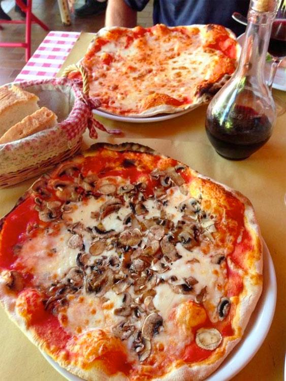 Cortona Contrario pizza
