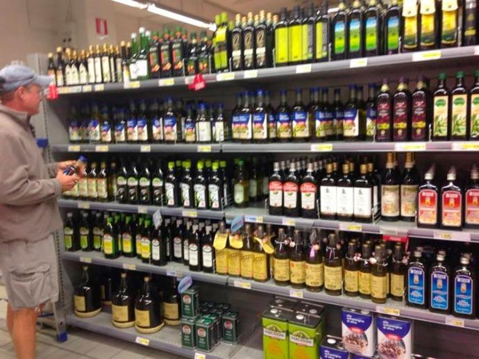 Cortona Coop olive oils