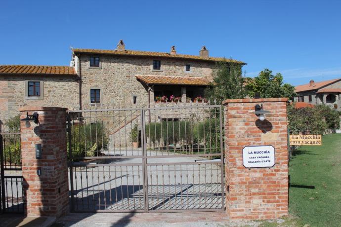 Cortona La Mucchia Casa Vacanze entry